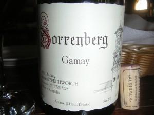 Sorrenberg Gamay