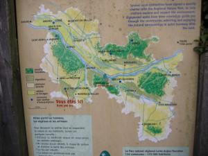 Saumur 地図